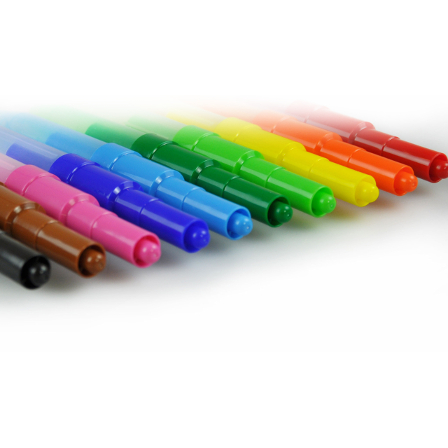 Airbrush Rainbow 10pcs Blowpens